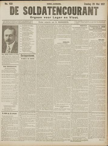 De Soldatencourant. Orgaan voor Leger en Vloot 1917-05-20