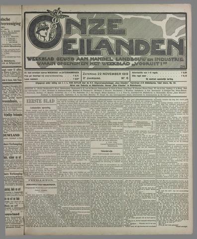 Onze Eilanden 1919-11-22