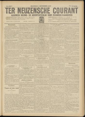 Ter Neuzensche Courant. Algemeen Nieuws- en Advertentieblad voor Zeeuwsch-Vlaanderen / Neuzensche Courant ... (idem) / (Algemeen) nieuws en advertentieblad voor Zeeuwsch-Vlaanderen 1937-11-01