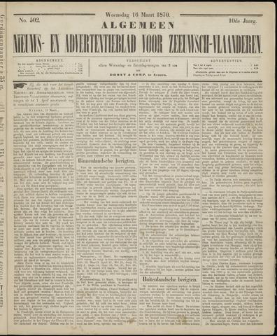 Ter Neuzensche Courant. Algemeen Nieuws- en Advertentieblad voor Zeeuwsch-Vlaanderen / Neuzensche Courant ... (idem) / (Algemeen) nieuws en advertentieblad voor Zeeuwsch-Vlaanderen 1870-03-16