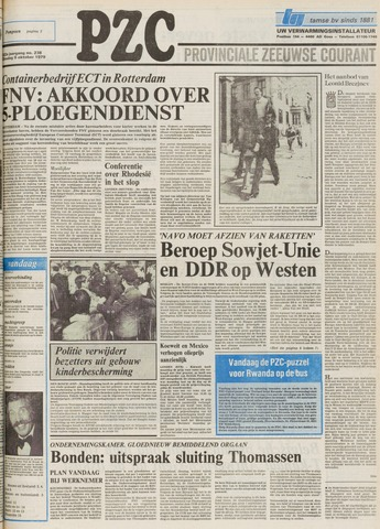 Provinciale Zeeuwse Courant 1979-10-09