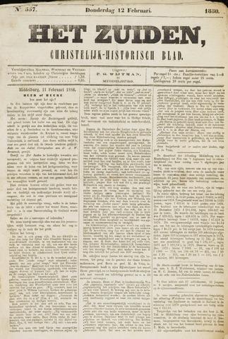 Het Zuiden, Christelijk-historisch blad 1880-02-12