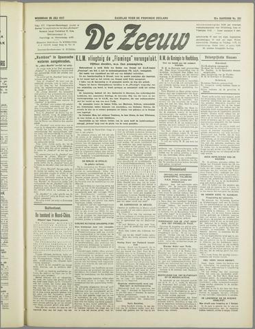 De Zeeuw. Christelijk-historisch nieuwsblad voor Zeeland 1937-07-28