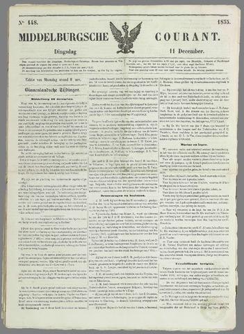 Middelburgsche Courant 1855-12-11