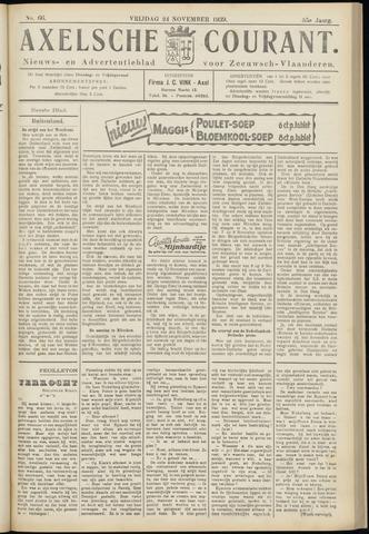 Axelsche Courant 1939-11-24