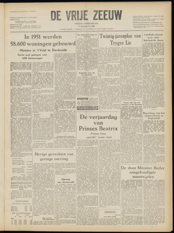 de Vrije Zeeuw 1952-02-01