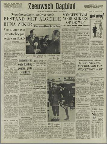 Zeeuwsch Dagblad 1962-02-16