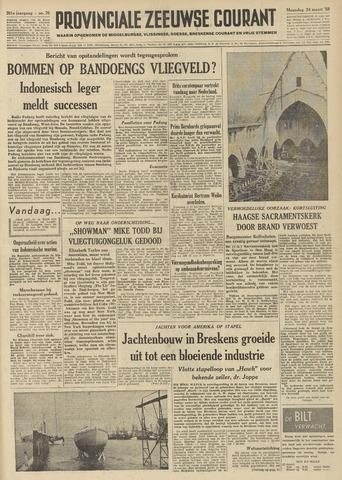 Provinciale Zeeuwse Courant 1958-03-24