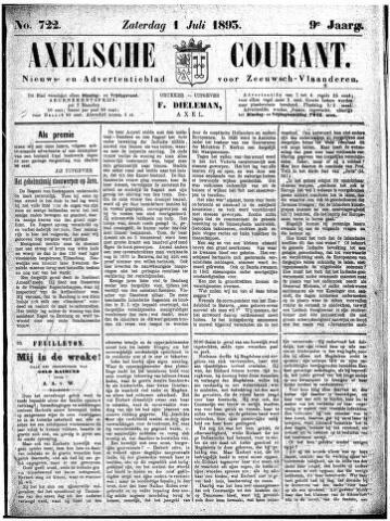 Axelsche Courant 1893-07-01