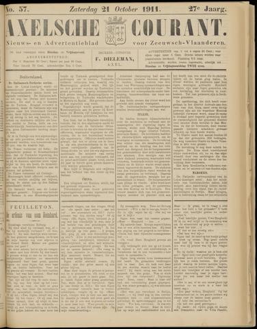 Axelsche Courant 1911-10-21