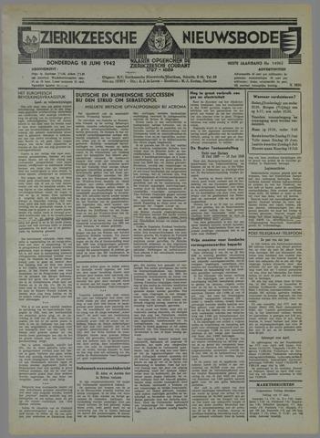 Zierikzeesche Nieuwsbode 1942-06-18