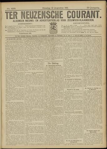 Ter Neuzensche Courant. Algemeen Nieuws- en Advertentieblad voor Zeeuwsch-Vlaanderen / Neuzensche Courant ... (idem) / (Algemeen) nieuws en advertentieblad voor Zeeuwsch-Vlaanderen 1915-08-10