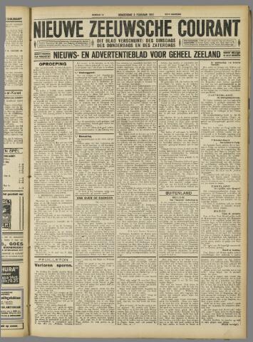 Nieuwe Zeeuwsche Courant 1927-02-03