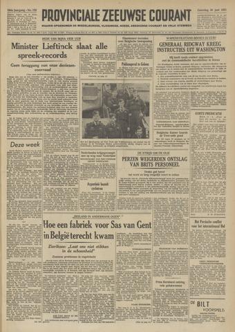 Provinciale Zeeuwse Courant 1951-06-30