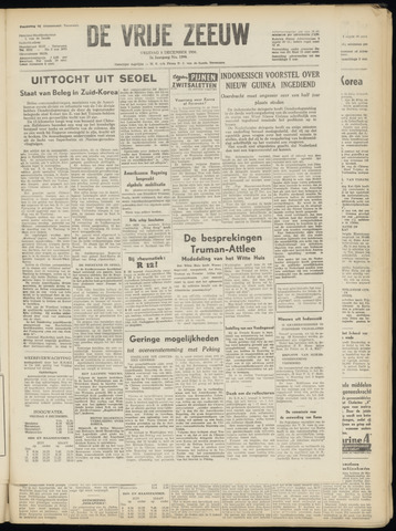 de Vrije Zeeuw 1950-12-08