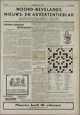 Noord-Bevelands Nieuws- en advertentieblad 1968-06-01