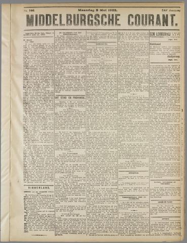 Middelburgsche Courant 1922-05-08