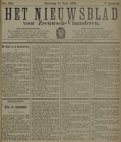 Nieuwsblad voor Zeeuwsch-Vlaanderen 1898-06-11
