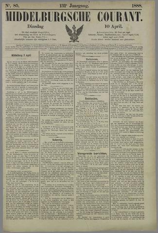 Middelburgsche Courant 1888-04-10