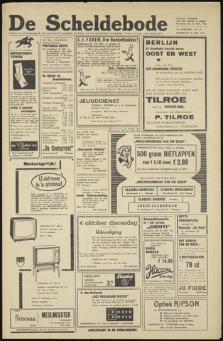 Scheldebode 1961-09-28