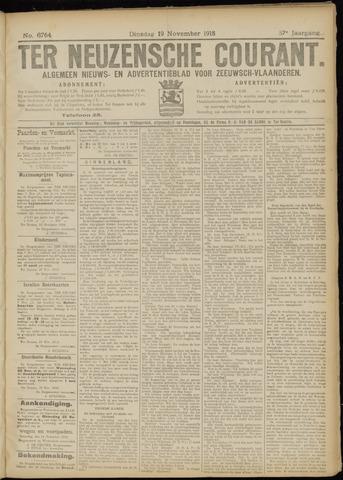 Ter Neuzensche Courant. Algemeen Nieuws- en Advertentieblad voor Zeeuwsch-Vlaanderen / Neuzensche Courant ... (idem) / (Algemeen) nieuws en advertentieblad voor Zeeuwsch-Vlaanderen 1918-11-19