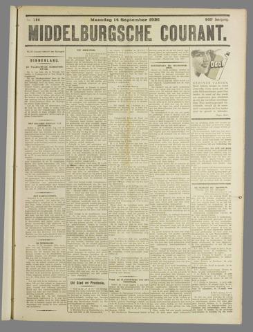 Middelburgsche Courant 1925-09-14