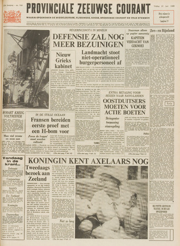Provinciale Zeeuwse Courant 1968-06-21