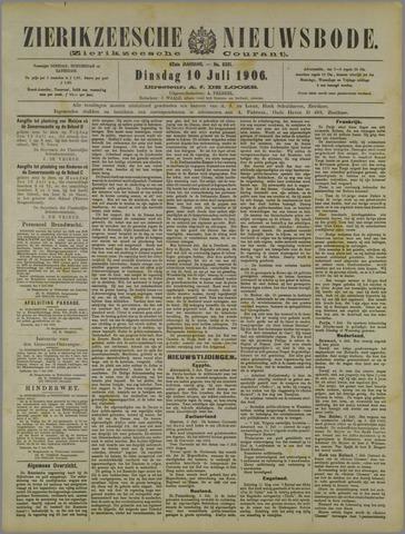 Zierikzeesche Nieuwsbode 1906-07-10
