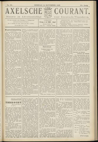 Axelsche Courant 1939-11-14