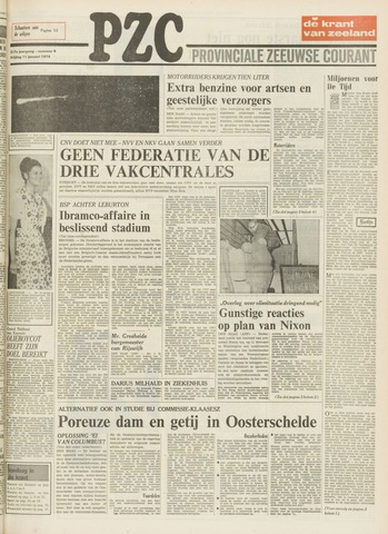 Provinciale Zeeuwse Courant 1974-01-11
