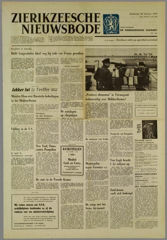 Zierikzeesche Nieuwsbode 1970-02-26
