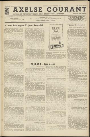 Axelsche Courant 1960-09-03