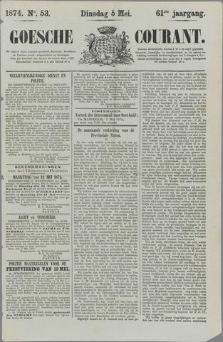 Goessche Courant 1874-05-05