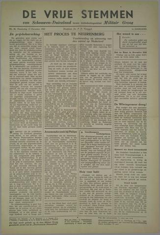 Vrije Stemmen van Schouwen-Duiveland, tevens mededeelingenblad Militair Gezag 1945-12-13