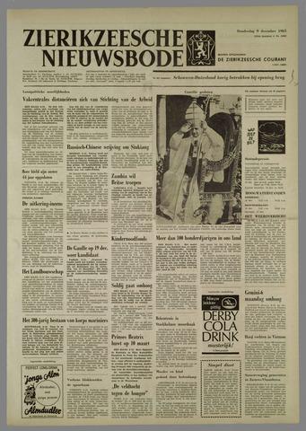 Zierikzeesche Nieuwsbode 1965-12-09
