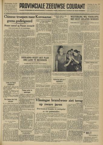 Provinciale Zeeuwse Courant 1950-08-26