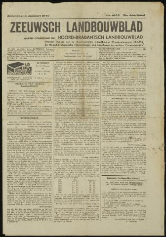Zeeuwsch landbouwblad ... ZLM land- en tuinbouwblad 1940-01-13
