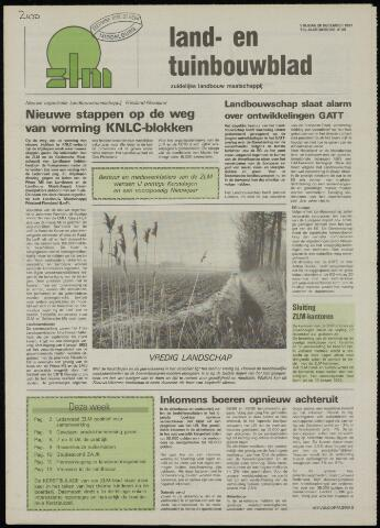 Zeeuwsch landbouwblad ... ZLM land- en tuinbouwblad 1991-12-20