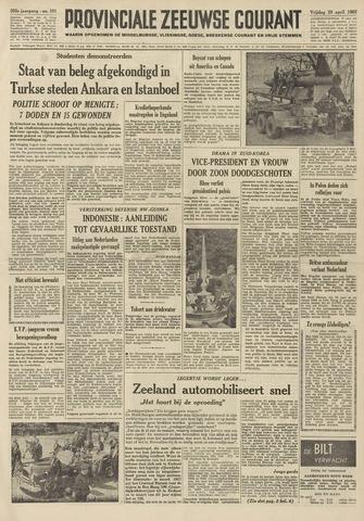 Provinciale Zeeuwse Courant 1960-04-29