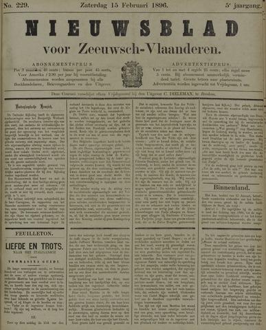 Nieuwsblad voor Zeeuwsch-Vlaanderen 1896-02-15