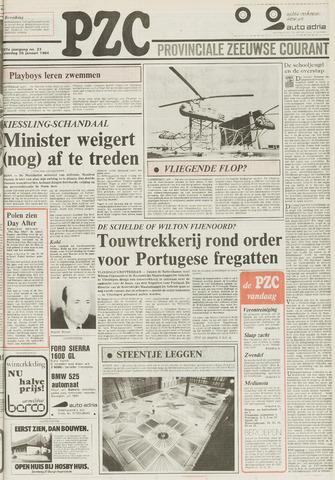 Provinciale Zeeuwse Courant 1984-01-28