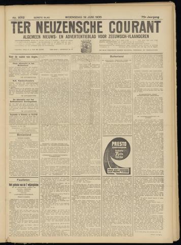 Ter Neuzensche Courant. Algemeen Nieuws- en Advertentieblad voor Zeeuwsch-Vlaanderen / Neuzensche Courant ... (idem) / (Algemeen) nieuws en advertentieblad voor Zeeuwsch-Vlaanderen 1935-06-19