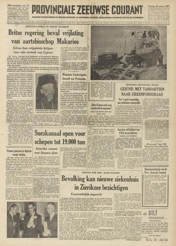Provinciale Zeeuwse Courant 1957-03-29
