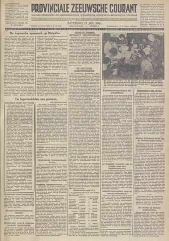 Provinciale Zeeuwse Courant 1942-01-17