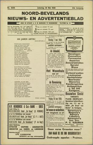 Noord-Bevelands Nieuws- en advertentieblad 1938-05-28