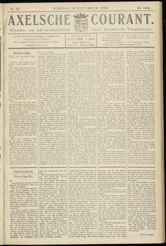Axelsche Courant 1928-11-13