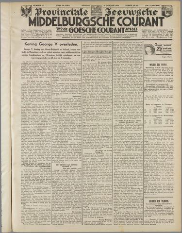 Middelburgsche Courant 1936-01-21