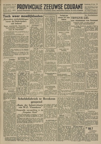 Provinciale Zeeuwse Courant 1948-01-22