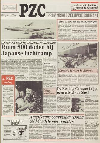 Provinciale Zeeuwse Courant 1985-08-13