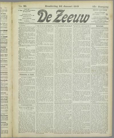 De Zeeuw. Christelijk-historisch nieuwsblad voor Zeeland 1919-01-23